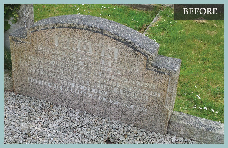Cleaning Marble Headstones : Smiths memorials headstones northern ireland cleaning